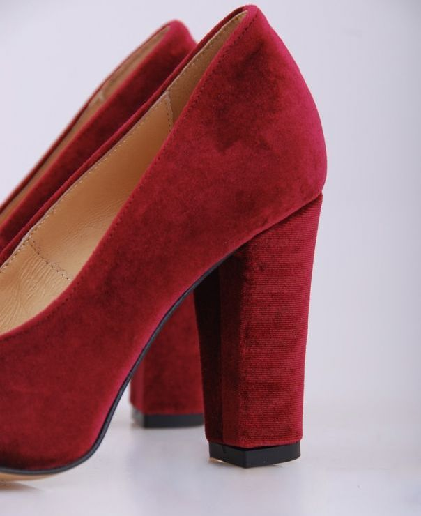 6034 - czerwony plusz