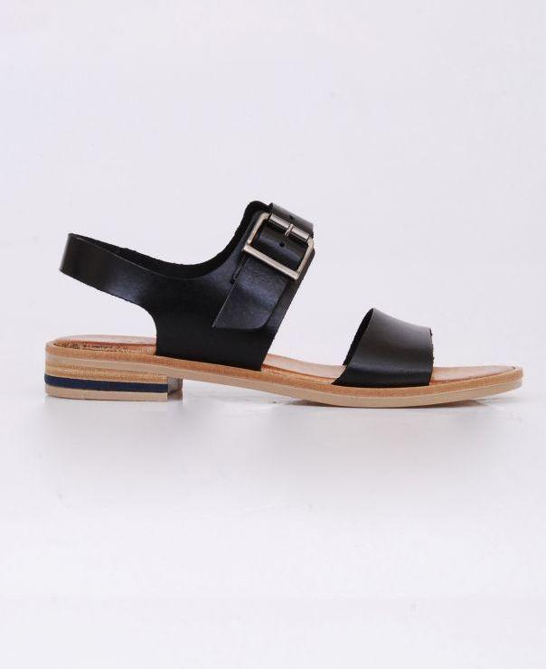Czarne sandały 8606-721