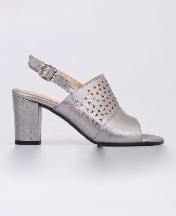 Sandały na słupku 8704-122