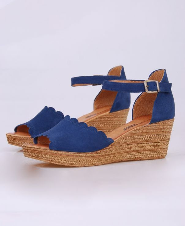 Sandały na koturnie 8713-324