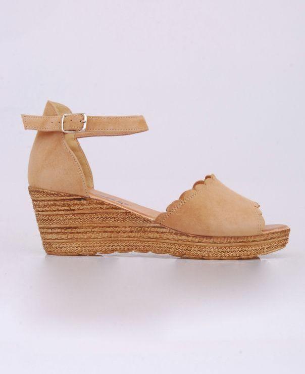 Sandały na koturnie 8713-464