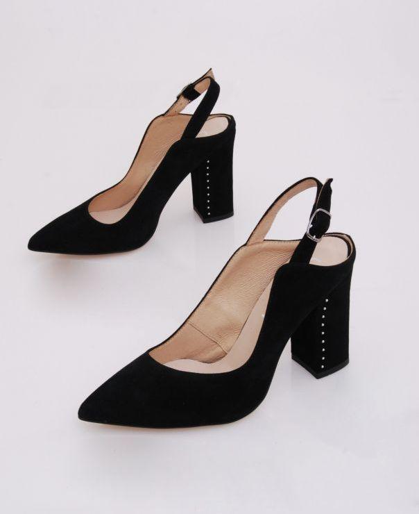Sandały na słupku 6107-012