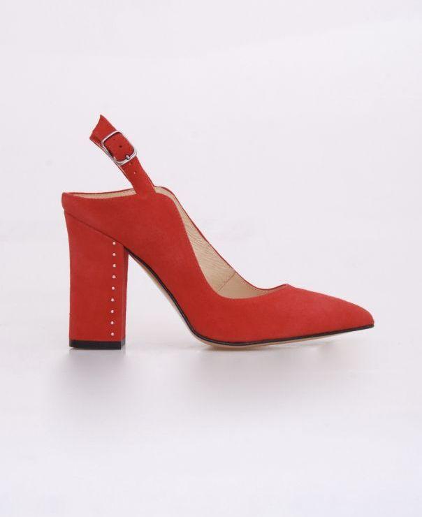 Sandały na słupku 6107-237