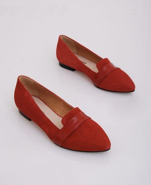 Czerwona balerina 6082-490/350