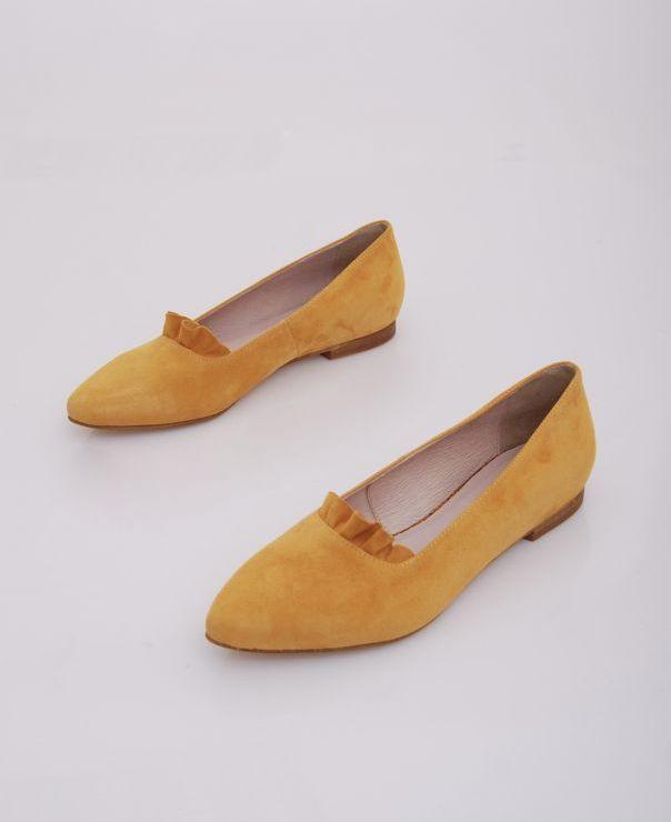 Balerina żółta 6083-136