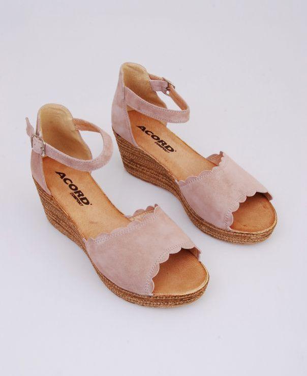 Sandały na koturnie 8713-463
