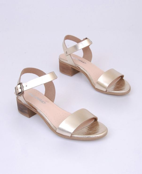 Złote sandały sandały 8460-800