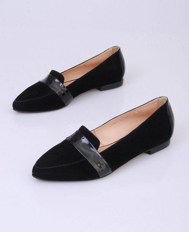 Balerina czarna 6081-012/042