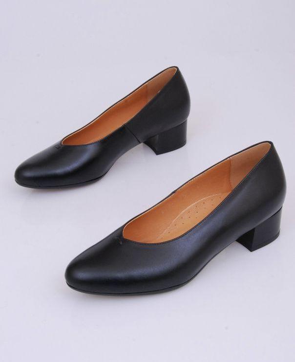 Czarne czółenka Comfort 6106-101